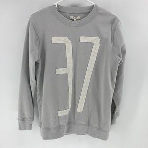 Madewell Crew Neck Sweatshirt 37 Casual Sweater